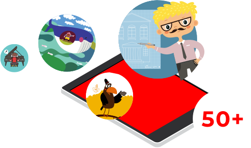Junge und Mädchen beim Buch vorlesen - Buy this stock illustration and  explore similar illustrations at Adobe Stock | Adobe Stock